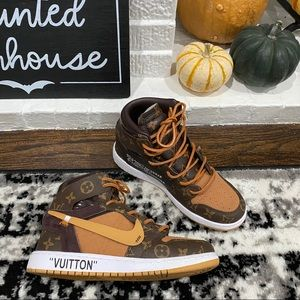 Louis Vuitton Ceeze Air Jordan Sneakers Retro 8